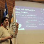 Experta abordó desafíos del Open Data y la incidencia social