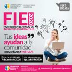 Proyectos adjudicados del FIE 2020 serán ejecutados de manera virtual